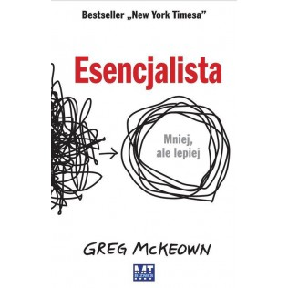 Esencjalista Greg McKeown książka